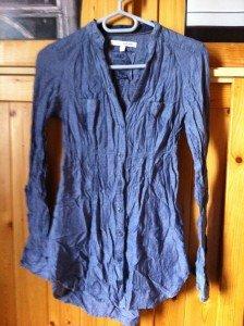 (22) Tunique-chemise bleue (T:S ou M) - 12€ img_2652-224x300